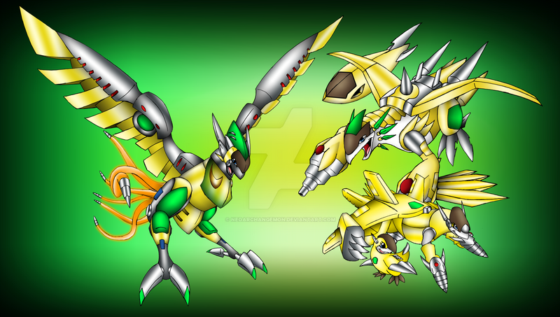 chicmon evolutions by neoarchangemon on deviantart