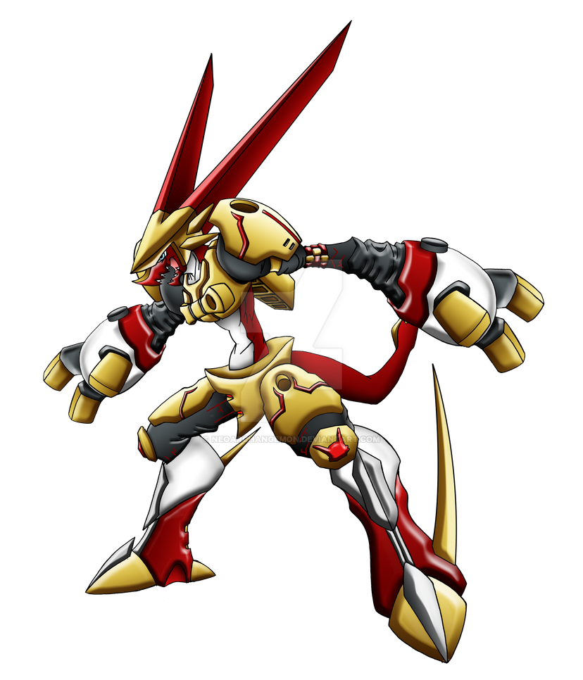 Omega Shoutmon (version 2) by neoarchangemon on DeviantArt