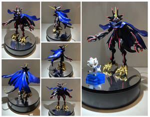GurusGammamon 3D model/print Completed