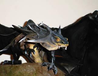 Black Dragon 3D 1 by Atriedes