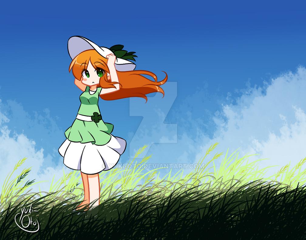Clover Wind by yuki-oto