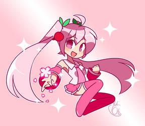 Sakura Miku for Miku Day