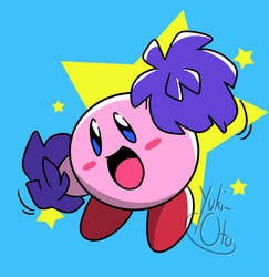 Kirby cheers for you