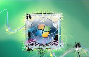 Windows Vista HD Wallpaper by livebetas
