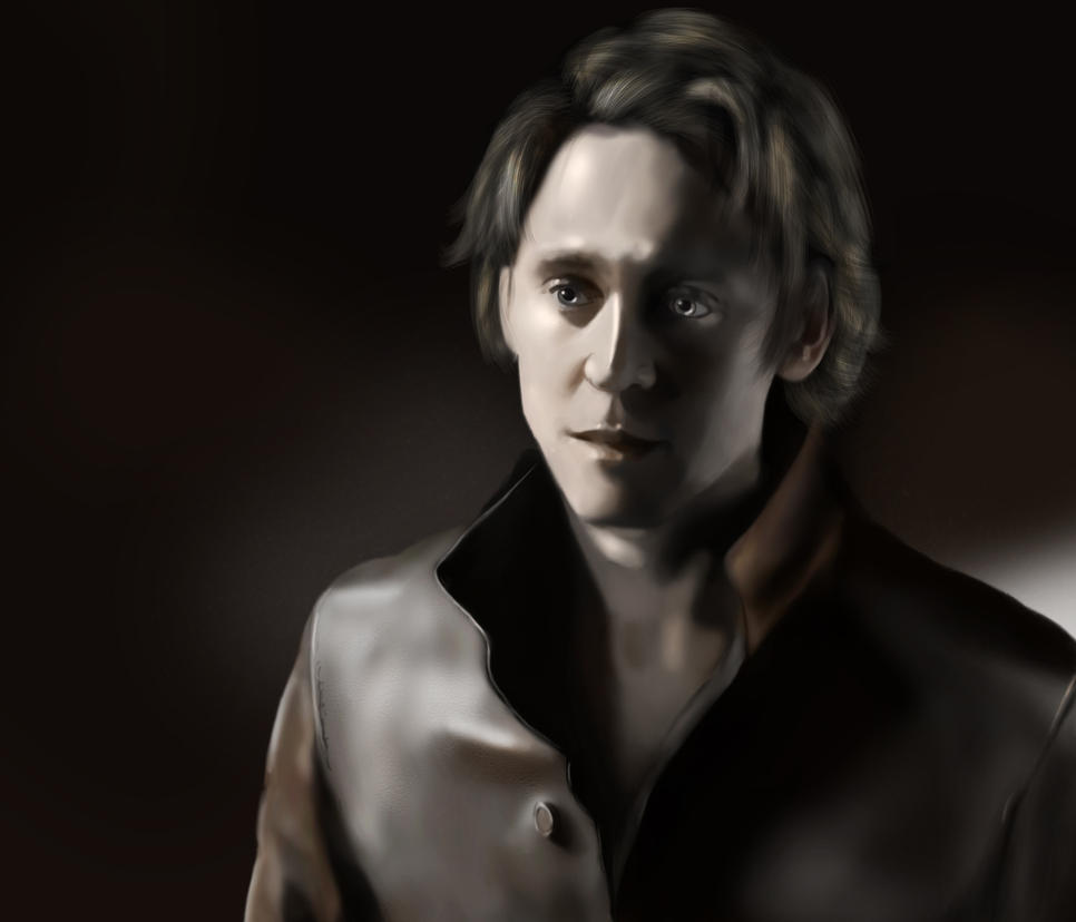 Tom Hiddleston by JessHavok