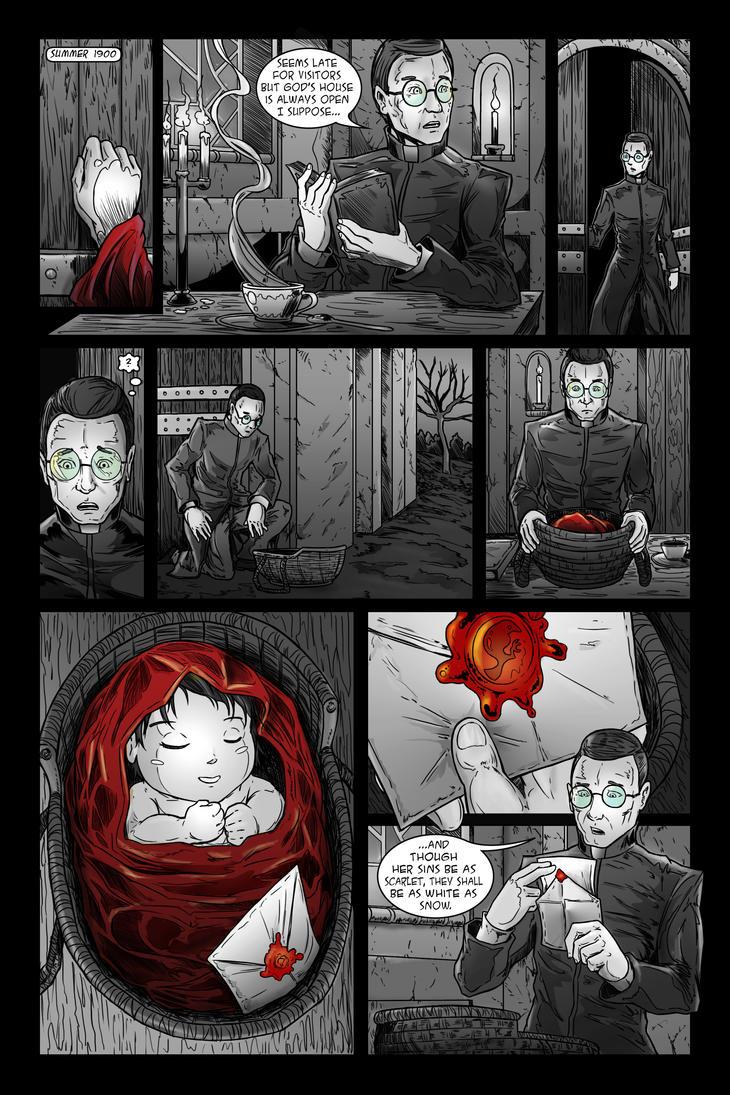 Creepy Scarlett: issue 2 - page 6 by JessHavok