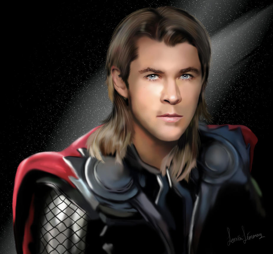 Thor by JessHavok