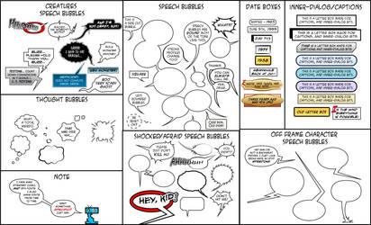 Comic Book Lettering  Samples by JessHavok