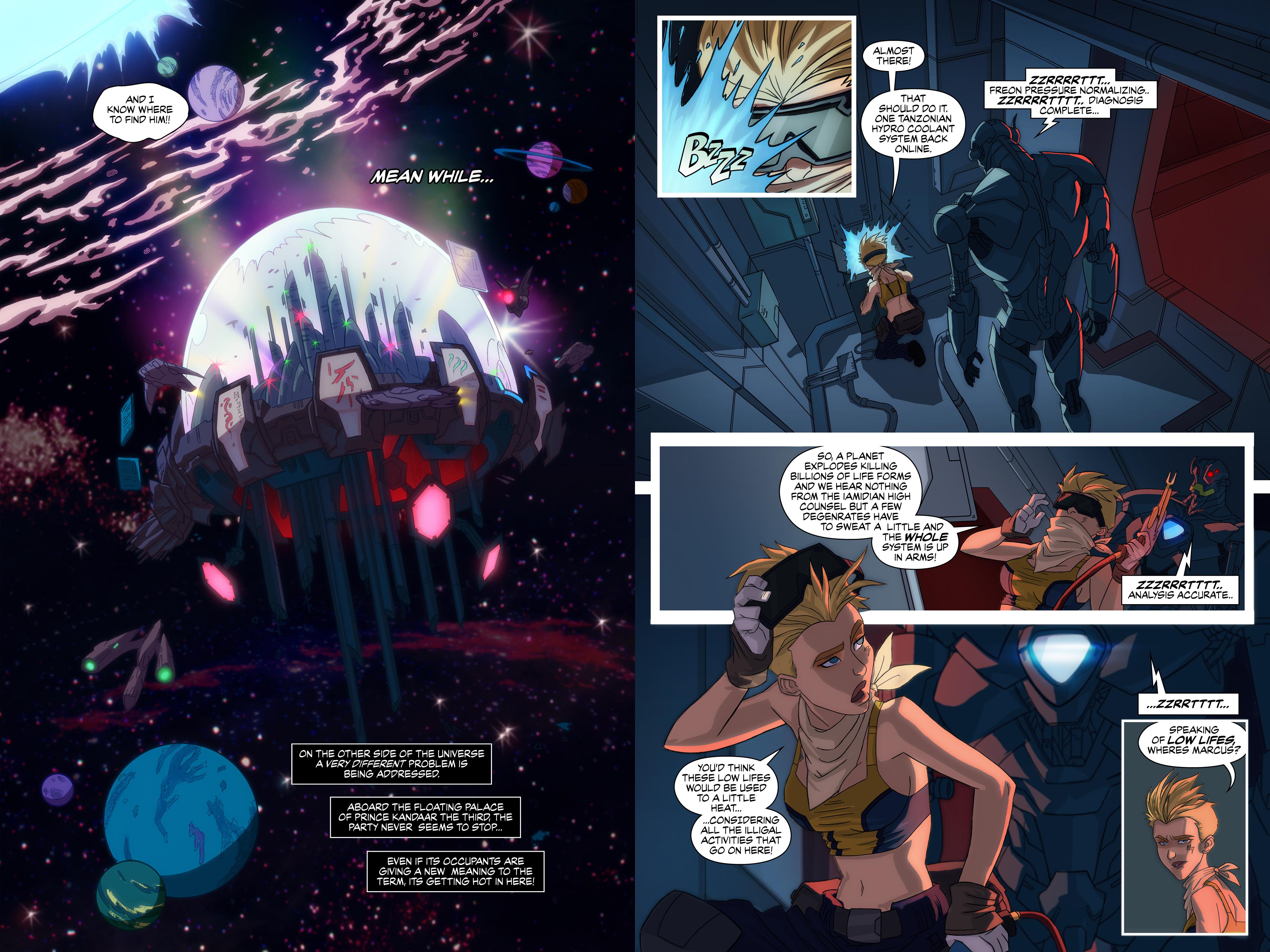 Deep Space Mechanics issue 1# page 2-3 by JessHavok