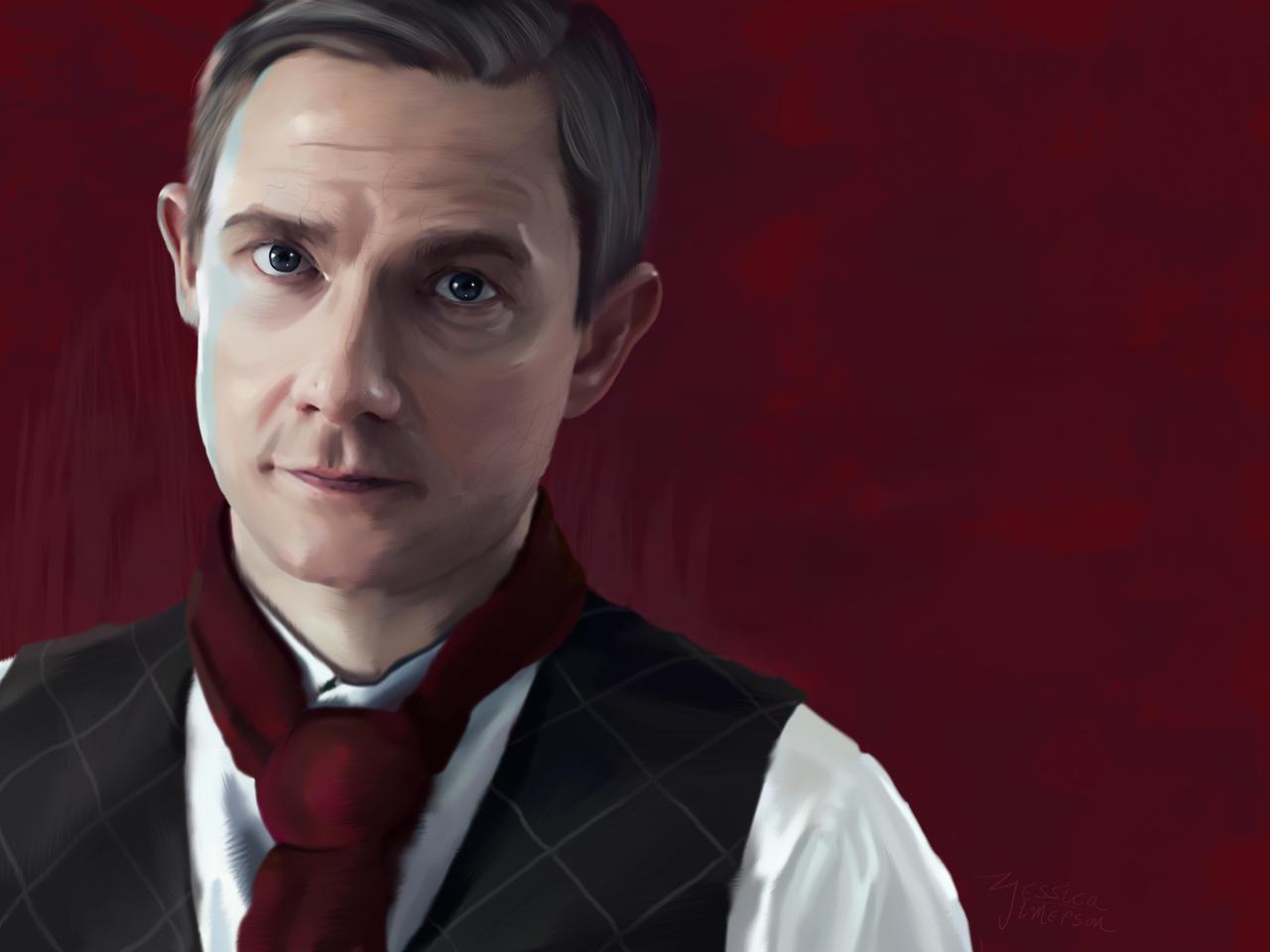 Martin Freeman by JessHavok