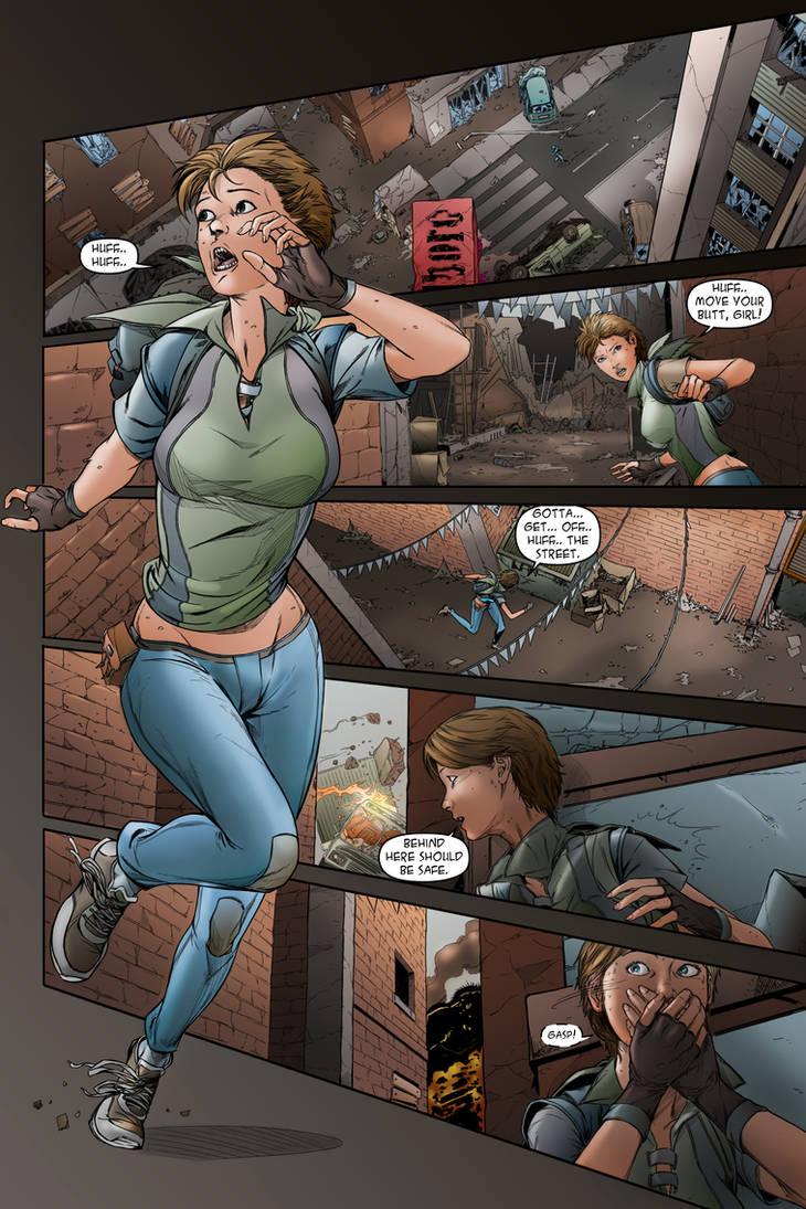 Legacy: issue 2# page 21 by JessHavok
