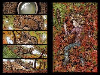 Child 4: issue 1# page 2-3 by JessHavok