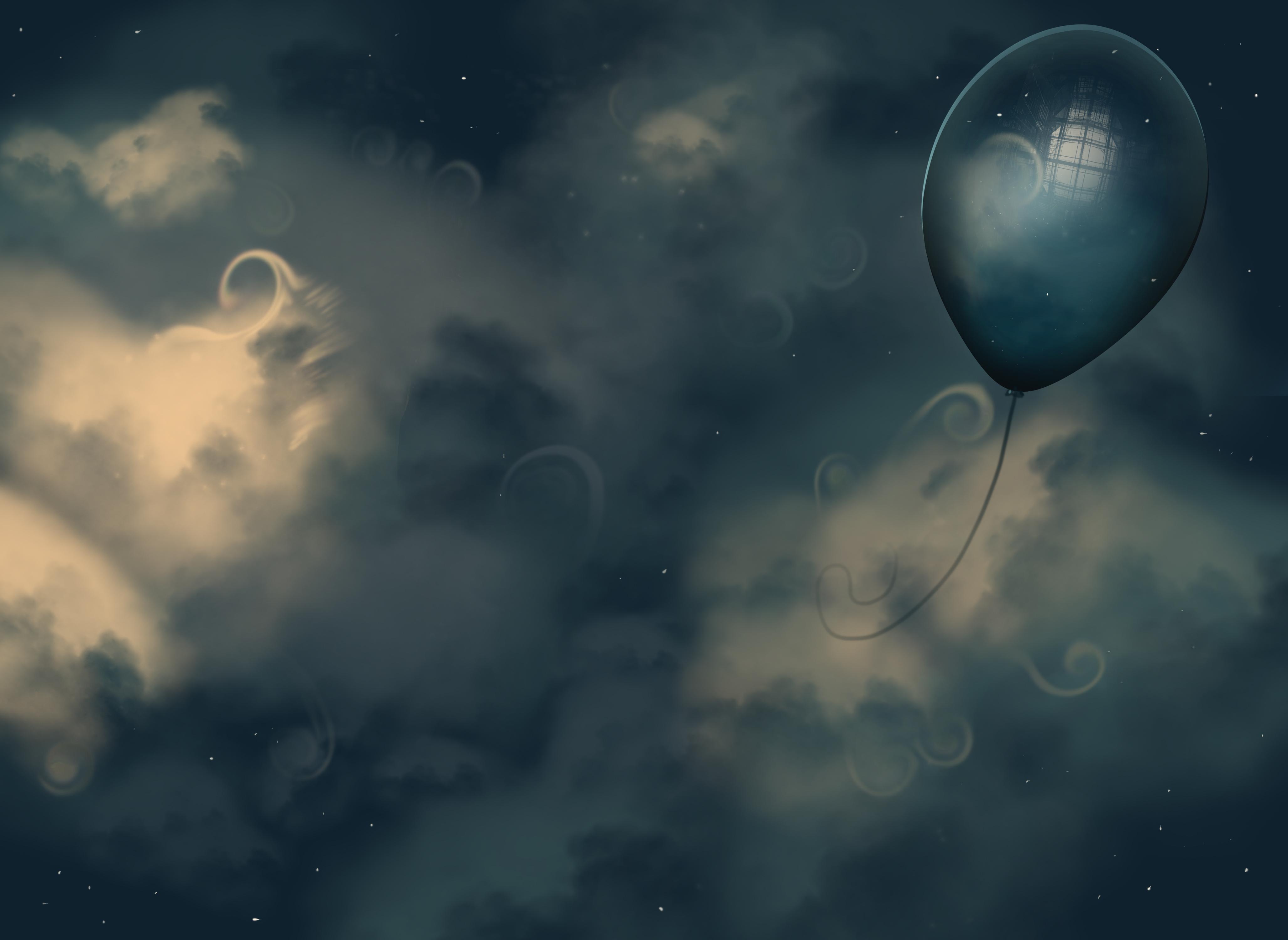 Balloon Sky by JessHavok