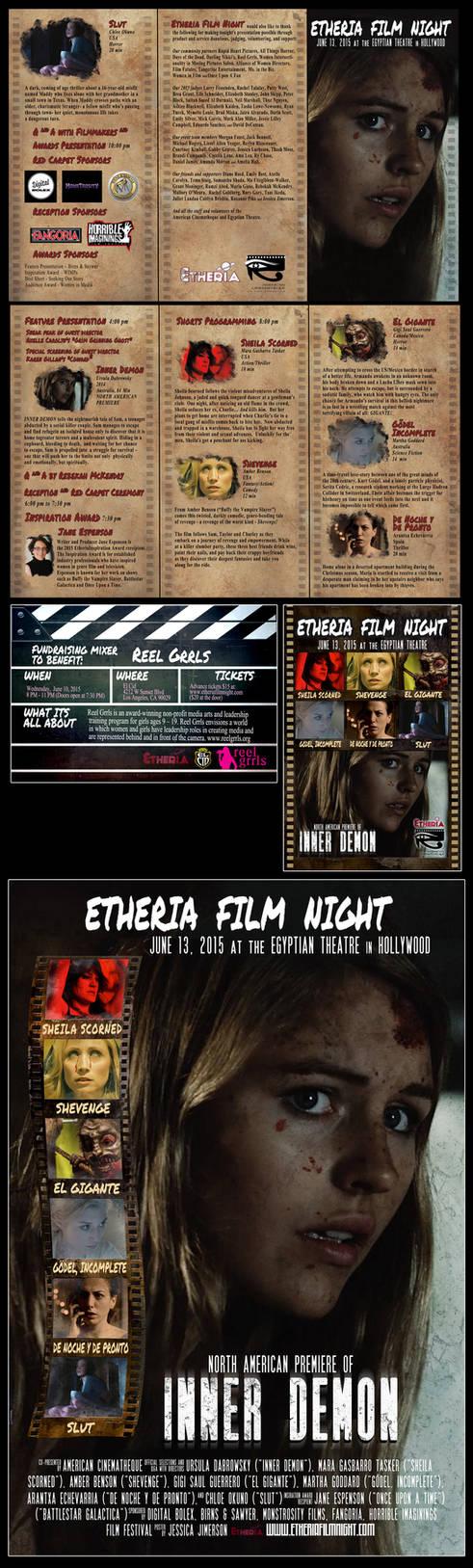 Etheria Film Night brochure/poster/flyer/etc 2015 by JessHavok