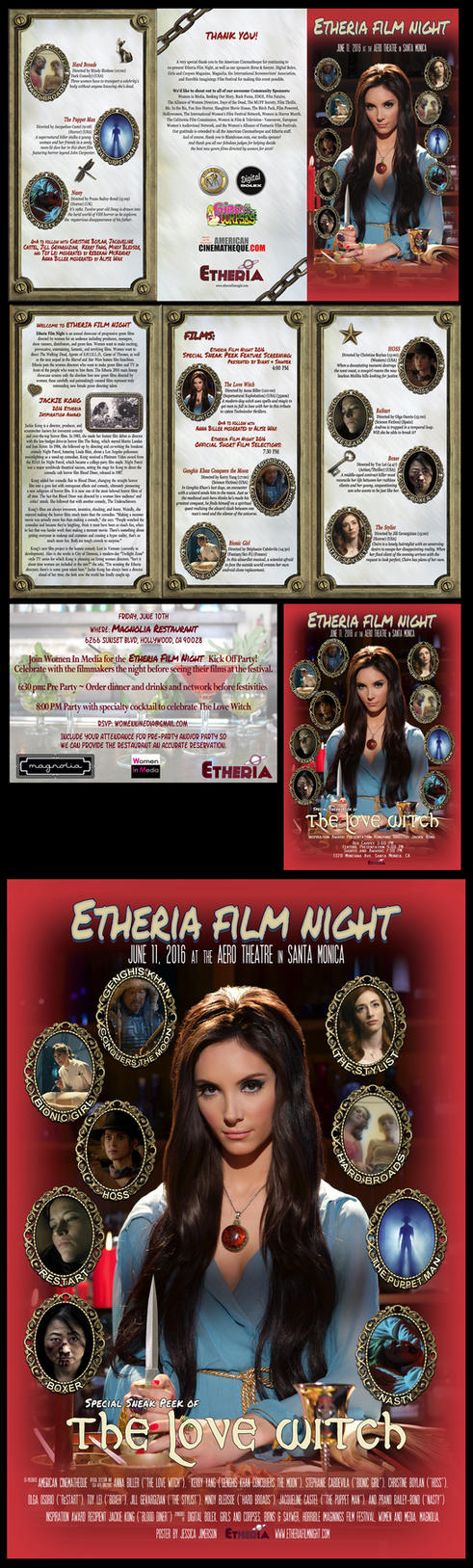 Etheria Film Night program/poster/flyer/etc 2016 by JessHavok