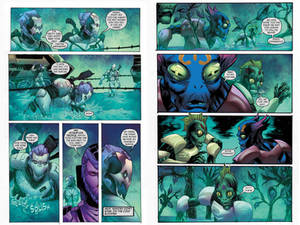 Proxima graphic novel pages 15-16
