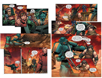 Infinite Glory (volume #1) pages 7-9