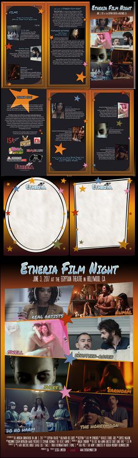 Etheria Film Night program/poster/flyer/stat 2017