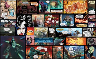 Comic Book Lettering by JessHavok