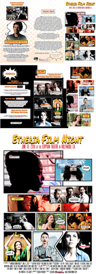 Etheria Film Night poster 2018 (commission)