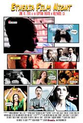 Etheria Film Night poster 2018 (commission) by JessHavok