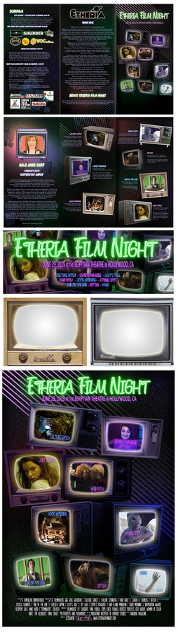 Etheria Film Night program/poster/flyer/etc 2019