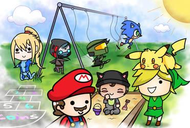 Playground Nintendo (commission)