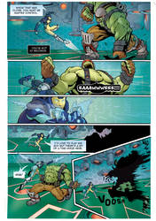 Shadowmancer Technoghost : issue #1 page 3
