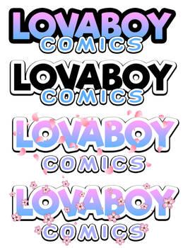 Lovaboy Comics (logo design)