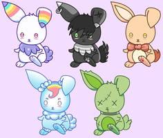 Bunny OTA - Open Adoptables by JessHavok