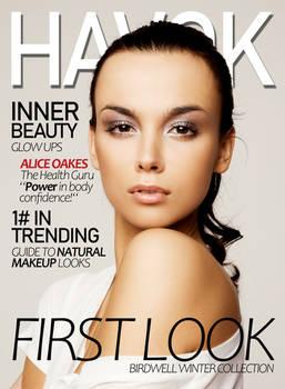 Havok - Mock Magazine Cover