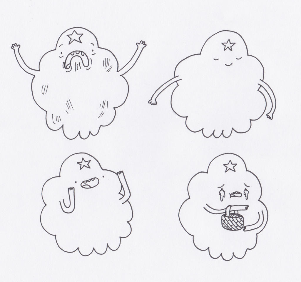 Lumpy space princess coloring pages