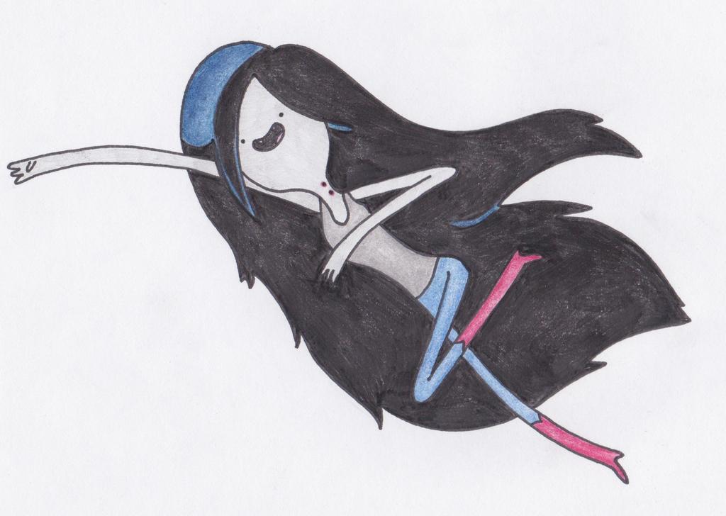 Marceline Flying By Sophiemai