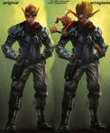 Jak 4 comparison of faces by mugiedamiax