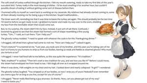 Thanksgiving Revenge