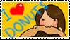 I love donuts-stamp by lachica51