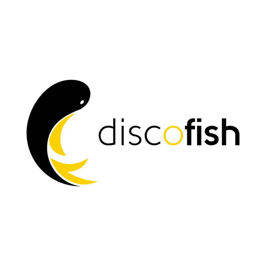 discofish logo by cyrusmuller