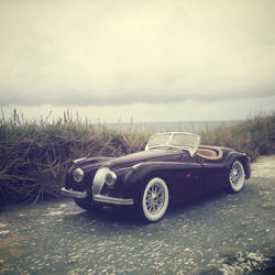 1/24 Diecast Jaguar XK120