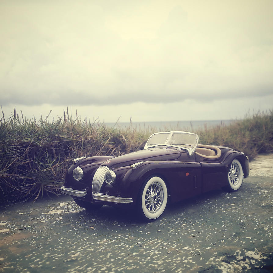 1/24 Diecast Jaguar XK120 by cyrusmuller
