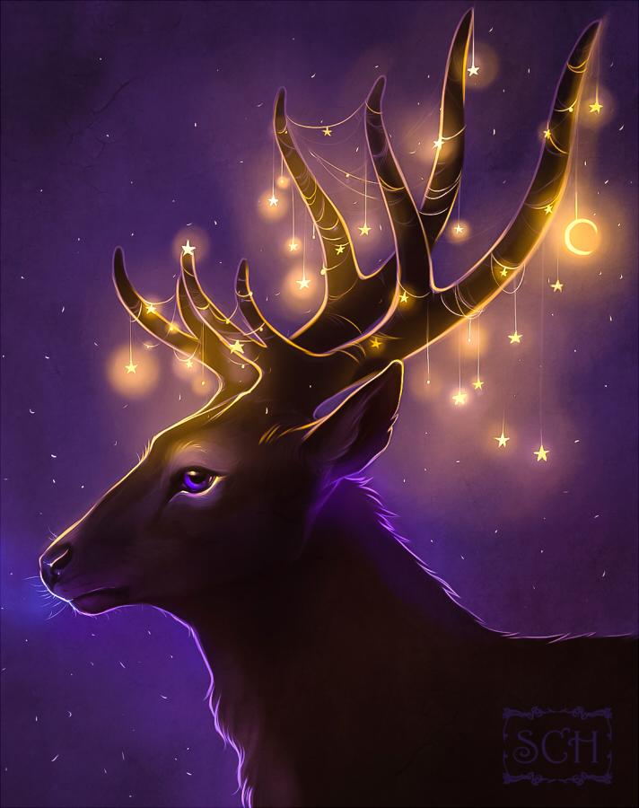 Deer by Krrrokozjabrra