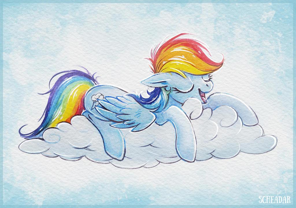 sleepy_rainbow_dash_by_krrrokozjabrra-da