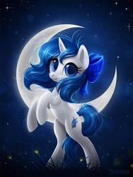 Sapphire Moonlight by Scheadar
