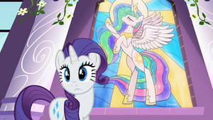 Pony castle (fake screenshot)