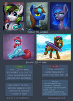 Pony pricelist (not actual) by Scheadar