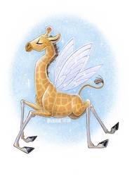 Giraffe by Scheadar