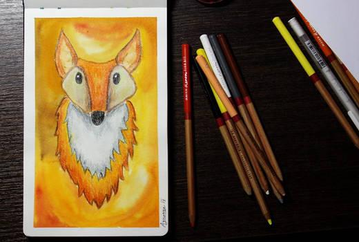 Foxy illustration - December 2018