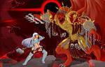 Warhammer 40K - Grey Knight vs Angron by TheTDArts