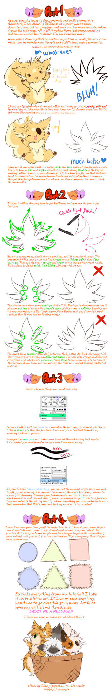 Tut: How to Draw Fluff