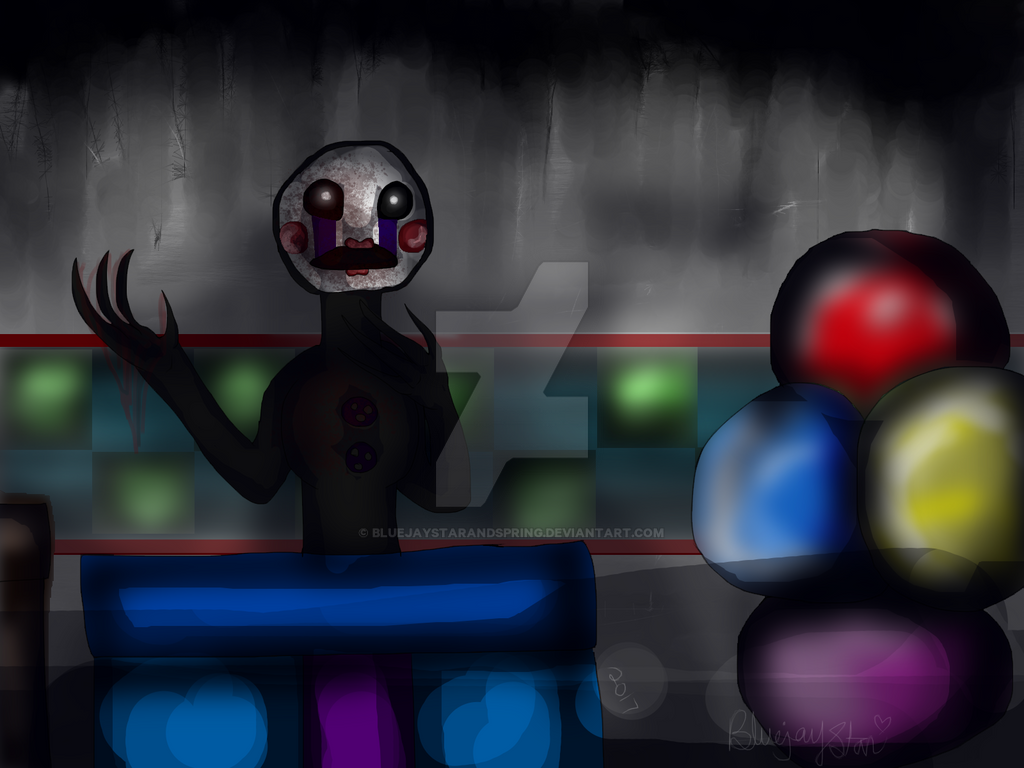 How bad can i be (Fnaf2 Puppet speedpaint)Redo by bluejaystarandspring