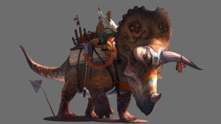 Hell's Creek Triceratops